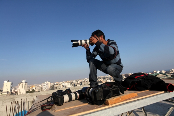 targeting of the civilians and media in the Gaza Strip rise to the level of war crimes